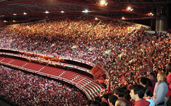Zum Finale der UEFA Champions League wird das Estádio do Sport Lisboa e Benfica restlos ausverkauft sein.
