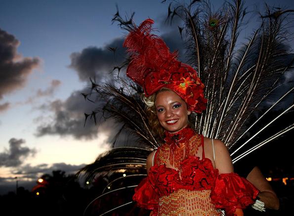 Neben der großen Parade gehört die Wahl zu den Höhepunkten des Karnevals in Port Douglas.