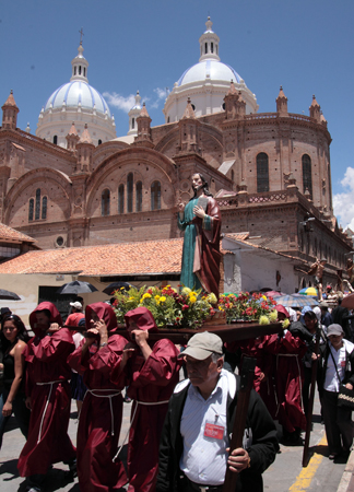 Stimmungsvolle Prozessionen stehen in der Karwoche in Cuenca im Fokus.