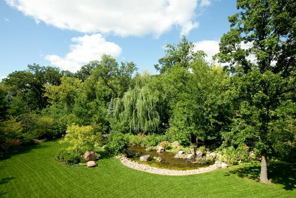 Grüne Oase in Rockford: Die Anderson Japanese Gardens.