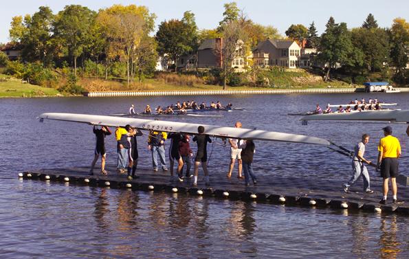 Der Rock River gilt als Eldorado des Wassersports.