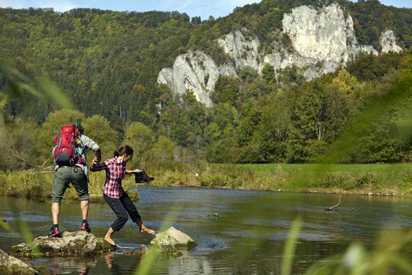 Rund um Sigmaringen lässt sich künftig auf fünf  Premiumwanderwegen das Donau-Tal erkunden. (Foto Stadt Sigmaringen)