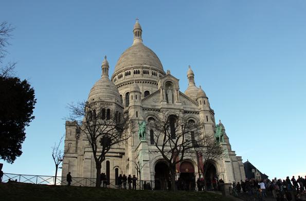 Der Stolz von Montmartre: Die Kirche Sacre Coeur. (Foto: Karsten-Thilo Raab)