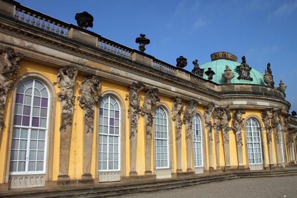 Eine der Hauptattraktion von Potsdam: Das Schloss Sanssouci. (Foto: Karsten-Thilo Raab)