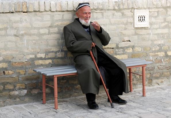 Offen und freundlich geben sich die Usbeken gegenüber Besucher aus aller Welt. (Foto: Karsten-Thilo Raab)