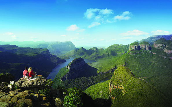 Der Ausblick über den Blyde River Canyon gehört fraglos zu den Höhepunkten in Mpumalanga.