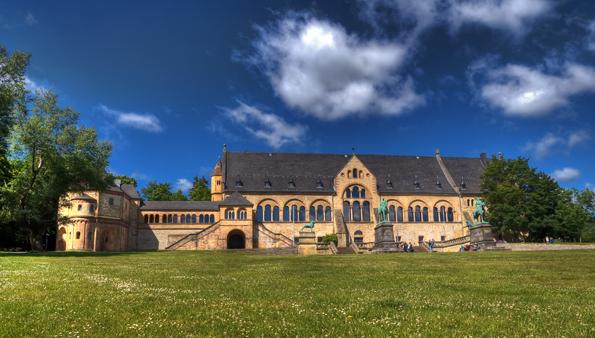 Eine der vielen Landmarken von Goslar: Die Kaiserpfalt. (Foto Stefan Schiefer)