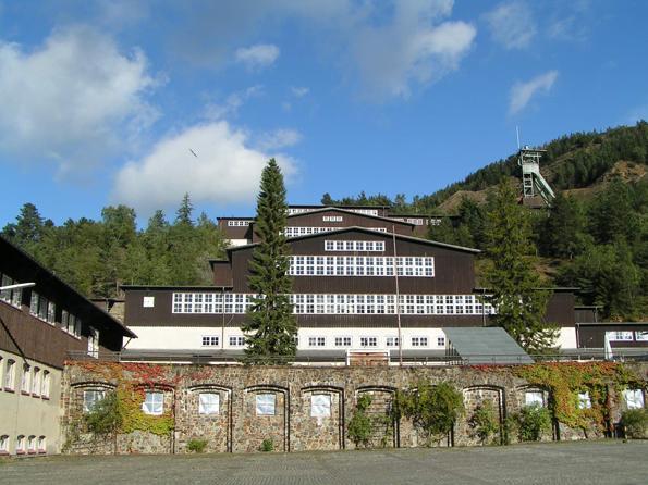 Seit 1992 als Welterbe unter dem Schutz der UNESCO: Das Bergwerk Rammelsberg. (Foto: Goslar Marketing)