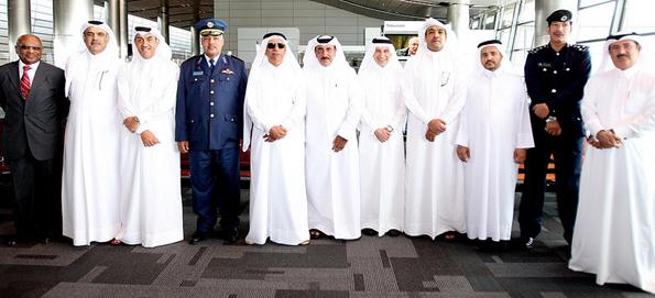 Zahlreiche Ehrengäste konnten zum Soft-Openuing auf dem Hamad International Airport in Doha begrüßt werden. (Fotos Qatar Airways)