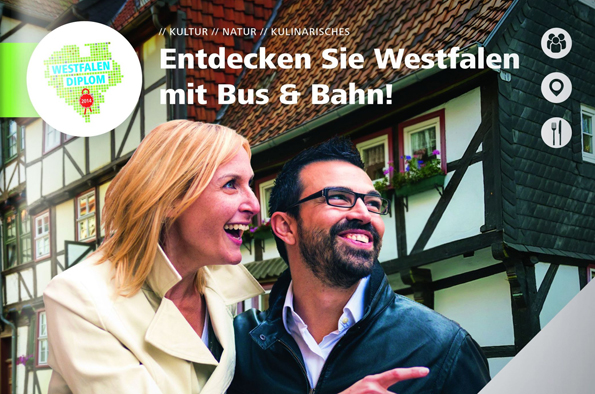 Auf der Jagd nach dem Westfalen-Diplom haben potenzielle teilnehmer die Qual der Wahl zwischen 15 Destinationen. (Foto LWL)