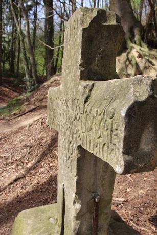 Das Tilbecker Mordkreuz ist ein Wegeindikator. (Foto: LWL)