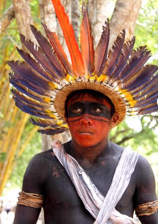 Mehr als 200 Indianerstämme sind noch heute im Amazonasgebiet zu Hause.