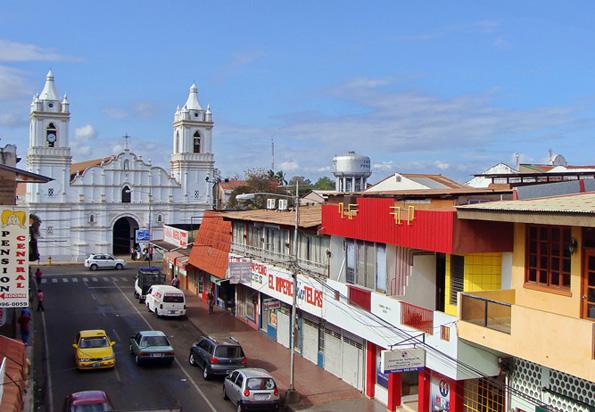 Die Kleinstadt Chitré wird von Häusern im Kolonialstil geprägt.