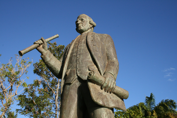 Das Cook-Monument in Cooktown im australischen Queensland. (Foto: Karsten-Thilo Raab)