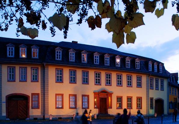 Nicht nur ein Mekka für Literaturfreunde: Das Goethe-Haus in Weimar. (Foto: Maik Schukc)