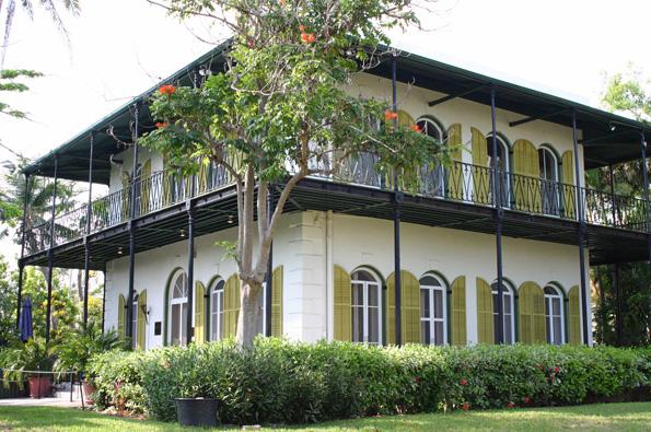 Mekka der Hemingway-Jünger: Das einstige Wohnhaus des großen Literaten in Key West.