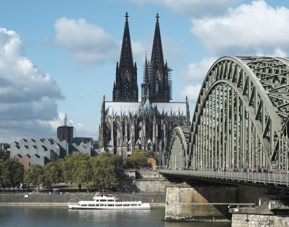 Der Kölner Dom ist mit 157,38 Metern Höhe nach dem Ulmer Münster das zweithöchste Kirchengebäude Europas. (Foto: Dieter Jacobi)