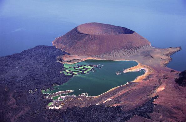 Der Lake Turkana gilt als größter Wüstensee der Welt.