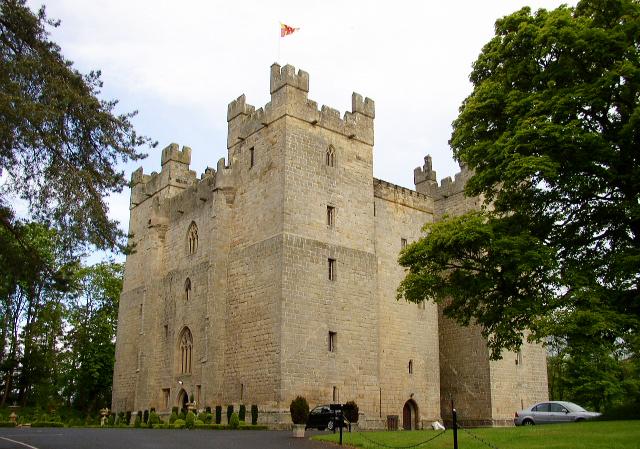 Ein Bollwerk mit meterdicken Mauern: Langley Castle. (Foto: Ken Brown)