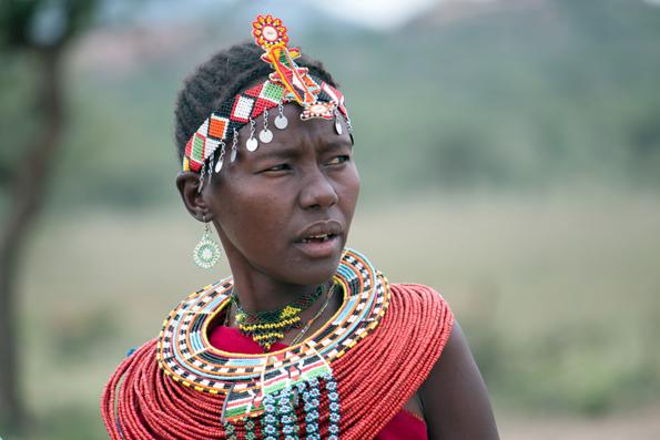 Die Samburu sind eines der Nomadenvölker, das am