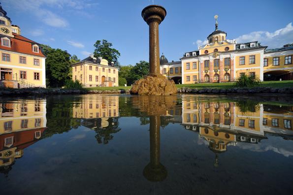 Die Sommerresidenzen mit Schloss Belvedere (Bild), Schloss Tiefurt, Schloss Ettersburg und ihren weitläufigen Parks laden zu einer Zeitreise durch die Weimarer Klassik ein. (Foto: Maik Schuck)