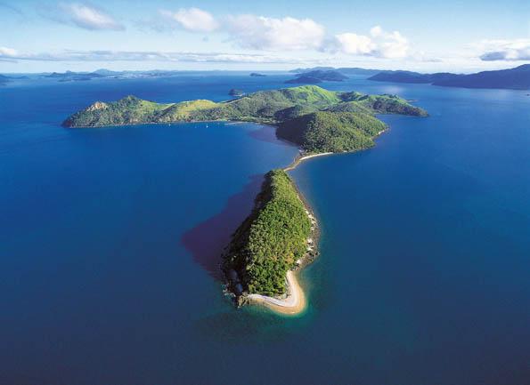 Ein Inseltraium für Mountainbiker: South Molle Island im australischen Queensland.