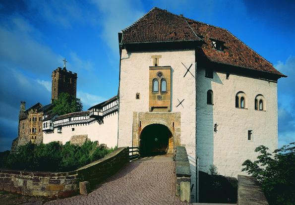 Eine der berühmtesten Landmarken Thüringens: Die Wartburg in Eisenach.