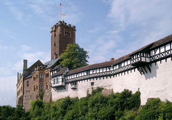 Die imposante Wartburg ist als Symbol einer 1000-jährigen Geschichte heute Weltkulturerbe der UNESCO. (Foto: Lencer)