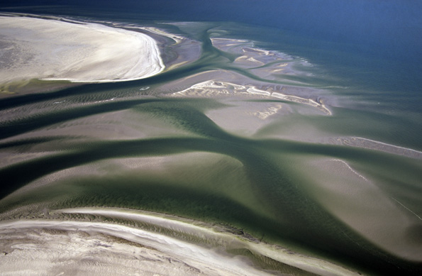 Von Holland bis Schleswig-Holstein erstreckt sich das UNESCO Weltnaturerbe Wattenmeer. (Foto: Martin Stock)
