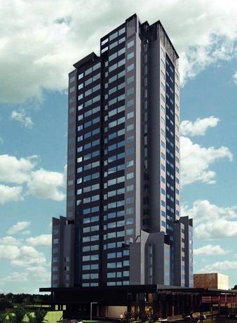 Weithin sichtbar: Der neue Hotelturm im indischen  Kochi.