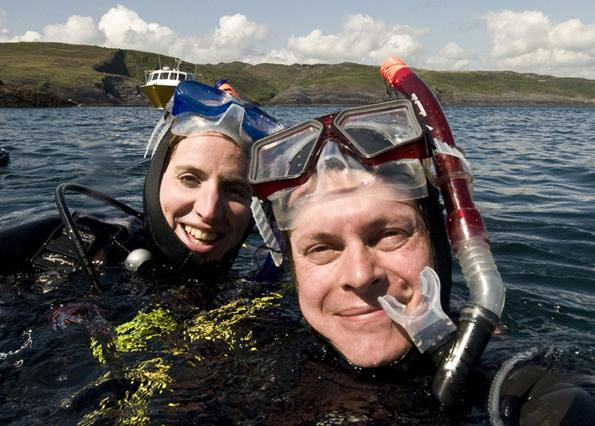 """Beim """"Blueway"""" lässt sich Irlands Atlantik-Küste aus dem Wasser heraus erkunden."""