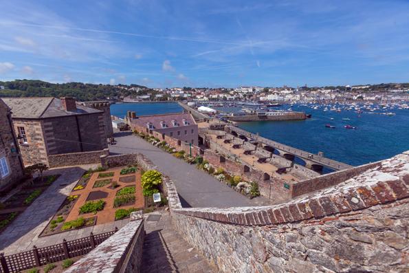 Guernseys historische Burganlagen sind stumme Zeugen einer langen, bewegten Geschichte. (Foto: Visit Guernsey)