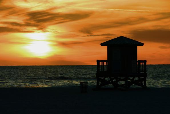 Floridas Westküste ist am Golf von Mexiko insbesondere rund um - wie hier im Bild -  Clearwater und St. Petersburg mit Traumstränden gesegnet. (Foto: Karsten-Thilo Raab)