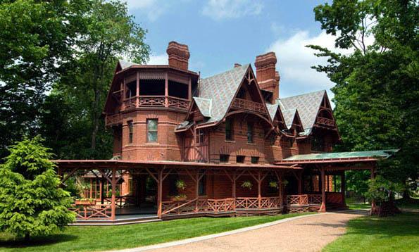 Für Mark Twain hatte sein Haus in Hartfod eine Seele und Augen. (Foto Mark Twain House & Museum)