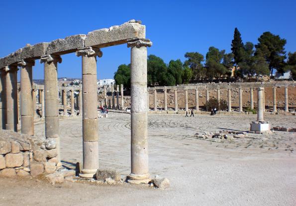Die römische Ausgrabungsstätte in Jerash bildet die atemberaubende Kulisse für ein grandioses Kulturfestival. (Foto: Karsten-Thilo Raab)