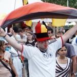Akustische Fußball-Graupe mit WM-Fieber