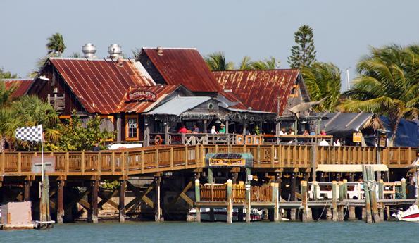 Gespickt mit guten Fischrestaurants: John's Pass Village auf Treasure Island. (Foto: Karsten-Thilo Raab)
