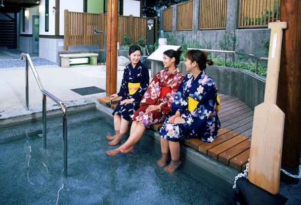 In Hokuriko genießt wie überall in Japan die Badekultur einen hohen Stellenwert.