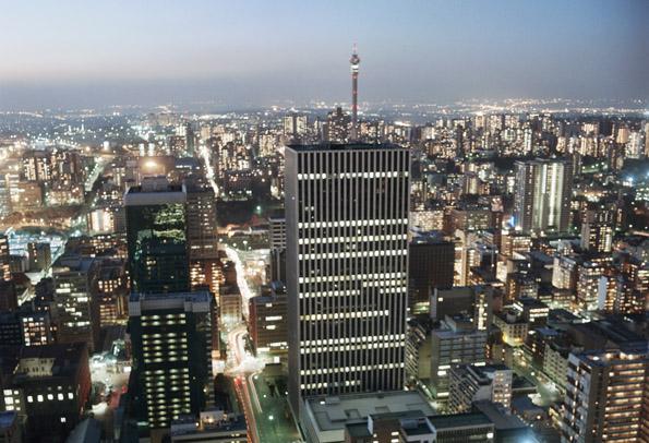 Fasziniewrende Millionenmetropole: Das südafrikanische Johannesburg.