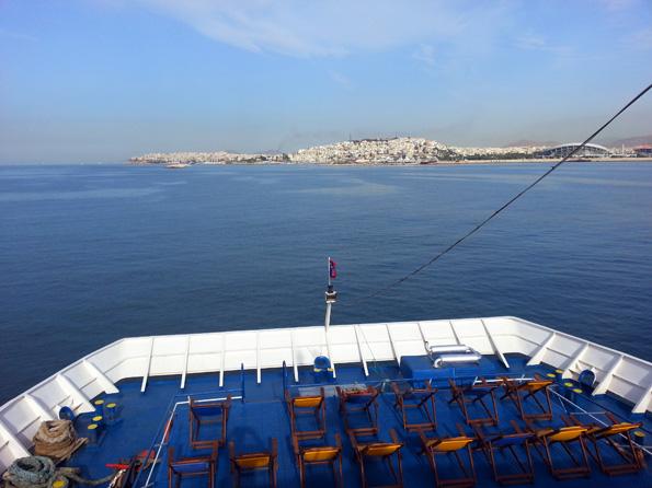 Vom Hafen von Flisvos startet die Minikreuzfahrt auf dem Saronischen Golf. (Foto: Karsten-Thilo Raab)