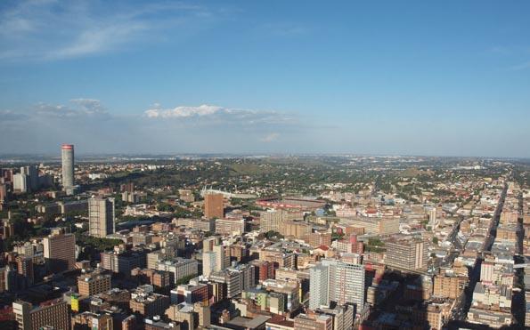 Johannesburg weiß nicht nur aus der Vogelperspektive zu begeistern.