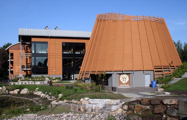 Mit dem  Premières Nations unterhalten die Huronen nicht nurein Hotel, sondern auch ein kleines Museum. (Foto: Karsten-Thilo Raab)