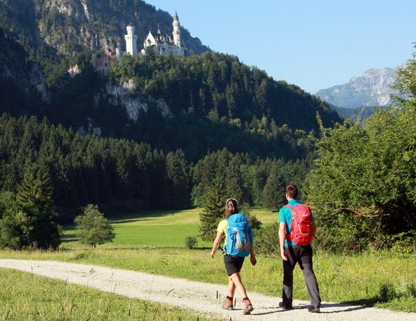 Über 870 Kilometer Wanderwege umfasst das neue Netzwerk der Wandertriologie Allgäu.