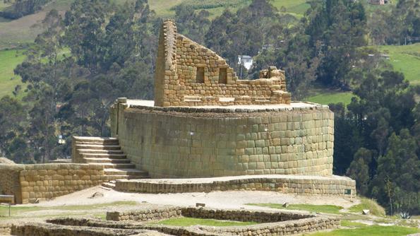 Überaus imposant: Die Ruinen von Ingapirca, die am legendären Königspfad liegen.