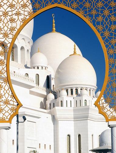 Die Faszination der Sheikh Zayed Moschee erschließt sich nun mit Hilfe kostenfreier Audioguides.