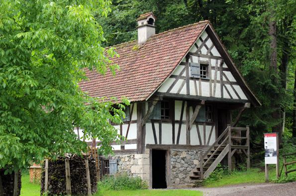 !5 historische Gehöfte bilden den Komplex des Bauernhofmuseums in Wolfegg. (Foto: Karsten-Thilo Raab)