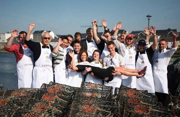 Galways Küchenchefs stehen schon in den Startlöchern für das große Austern-Festival.
