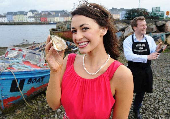 Mächtig in Schale schmeißt sich Galway anlässlich des jährlichen Oyster Festivals.