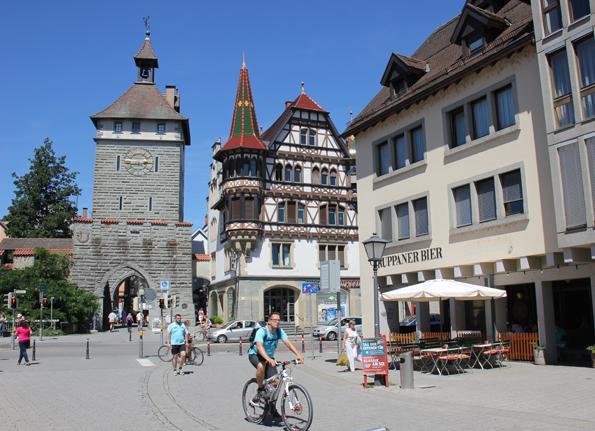 Prachtvoller Zugang zur Konstanzer Altstadt: Das Schnetztor. (Foto: Karsten-Thilo Raab)
