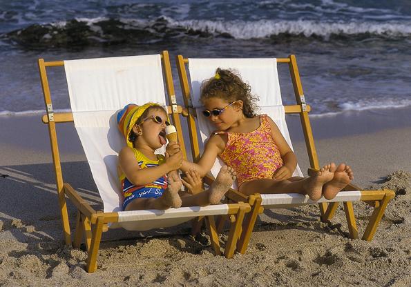 Tausende von Kindern wurden im Sommer um ihr Badevergnügen und den obligatorischen Eisgenuss betrogen.